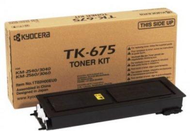 KYOCERA TK-675 Siyah Lazer Muadil Toner