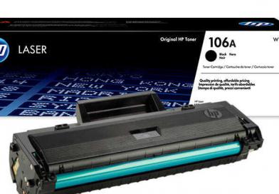 HP 106a Toner Dolum (W1106A)